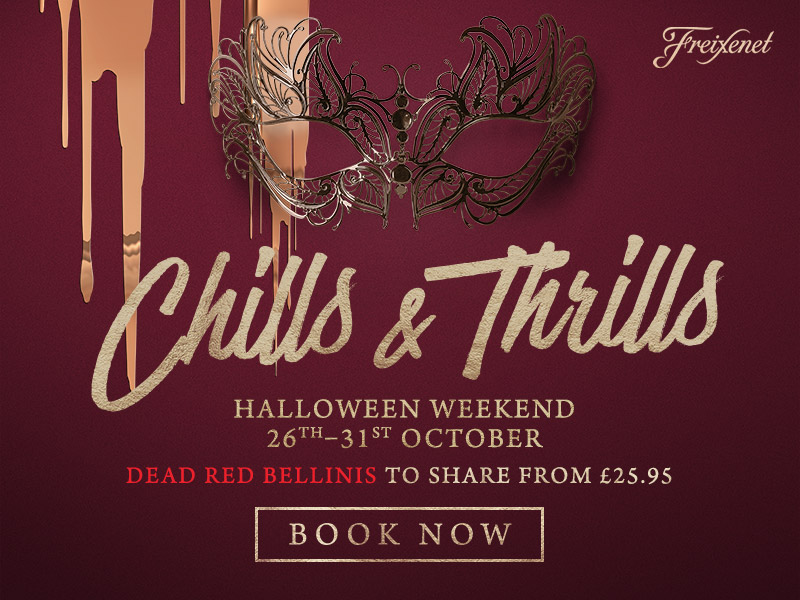 Chills & Thrills this Halloween at The Cock Inn